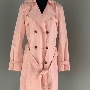 Cole Haan Women's Double Breasted Trench size M